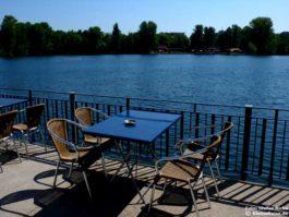 Terrassencafé und Restaurant Milchhäuschen am Weißen See