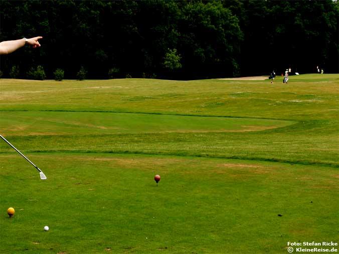 Golfen ohne Mitgliedschaft und Platzreife auf 9-Loch-Platz in Bad Saarow