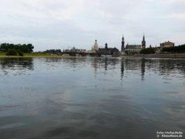 Dresden mit Frauenkirche und Semperoper